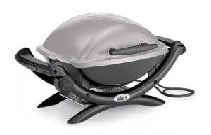 Barbecue Weber électrique gris – source photo @ weberstephen.fr