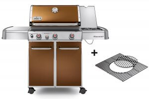 Weber Genesis E-330 Barbecue à gaz cuivré