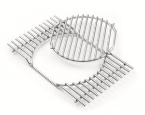Une grille pour barbecue Weber – source photo @ weberstephen.fr