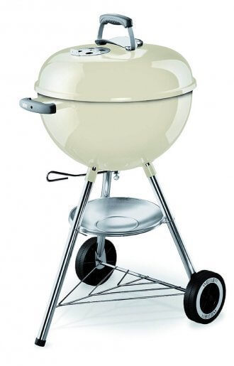 Barbecue charbon WEBER ORIGINAL KETTLE 47cm IVORY WHITE