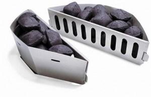 Panier à charbon Weber – source photo @ weberstephen.fr