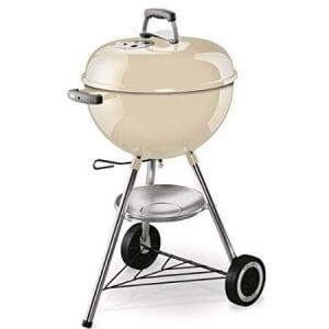 Weber One-Touch Original Barbecue à Charbon Blanc Ivoire 47 cm