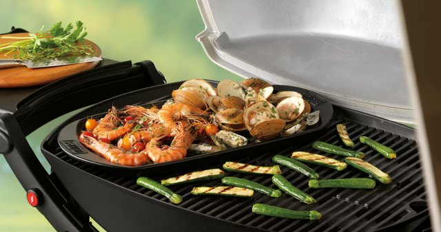 plancha barbecue weber