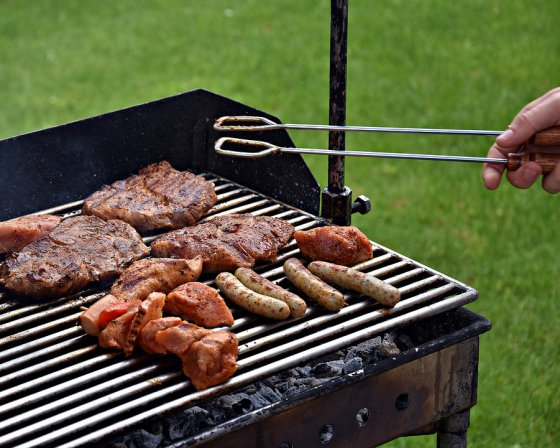 barbecue vertical type