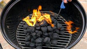 Les moyens rapides pour allumer le charbon de bois
