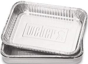 Barquettes en aluminium pour barbecue Weber