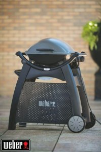 Chariot Deluxe pour Barbecue Weber Gaz Q 2000
